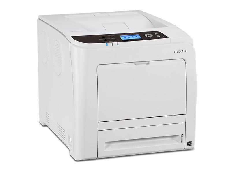 Цветен лазерен принтер RICOH SPC340DN, A4