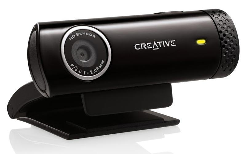 Уеб камера с микрофон CREATIVE Live! Cam Chat HD, USB2.0
