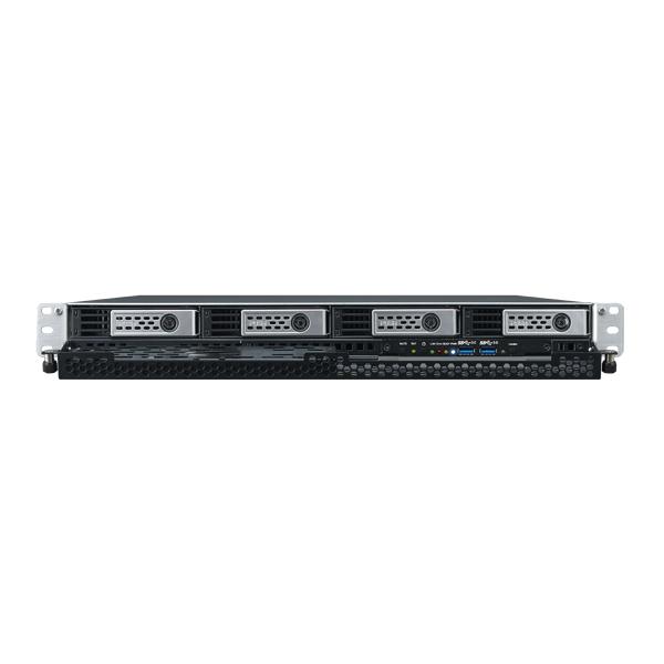 Мрежов сторидж Thecus 1U rack mount NAS N4510U PRO-S 4 диска до 32TB, Single power, Atom D2701 2.13Ghz, 2GB DDR3, USB2.0, USB 3.0, HDMI,VGA