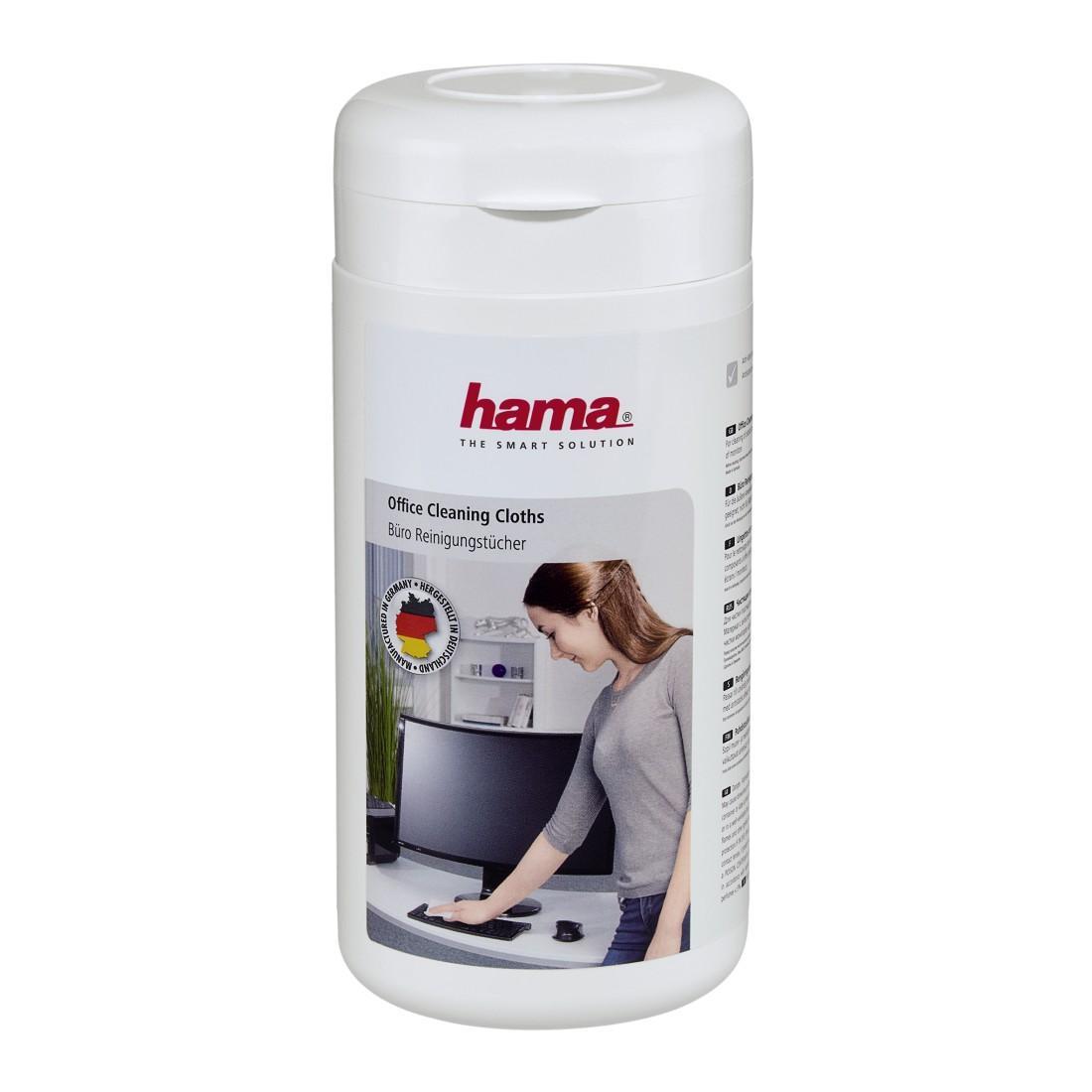 Почистващ комплект HAMA за повърхности, 100бр.кърпички