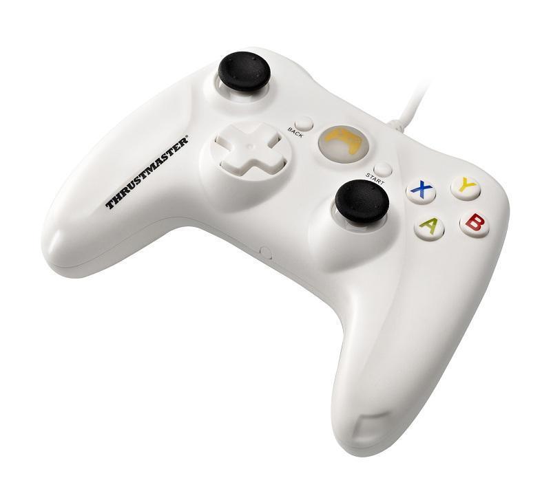 Жичен геймпад Thrustmaster GP XID  за PC, Бял