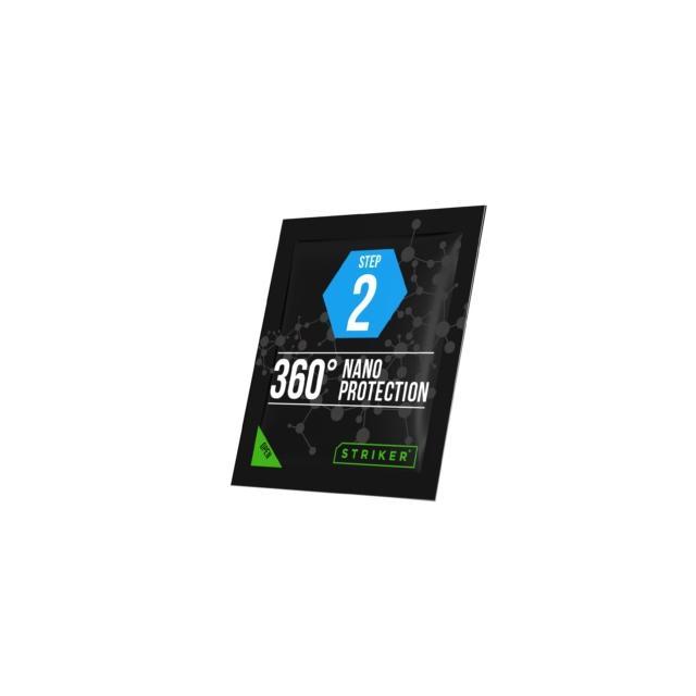 Антибактериален комплект 3 в 1 STRIKER 360º, Hi-Tech Nano Protection за телефони