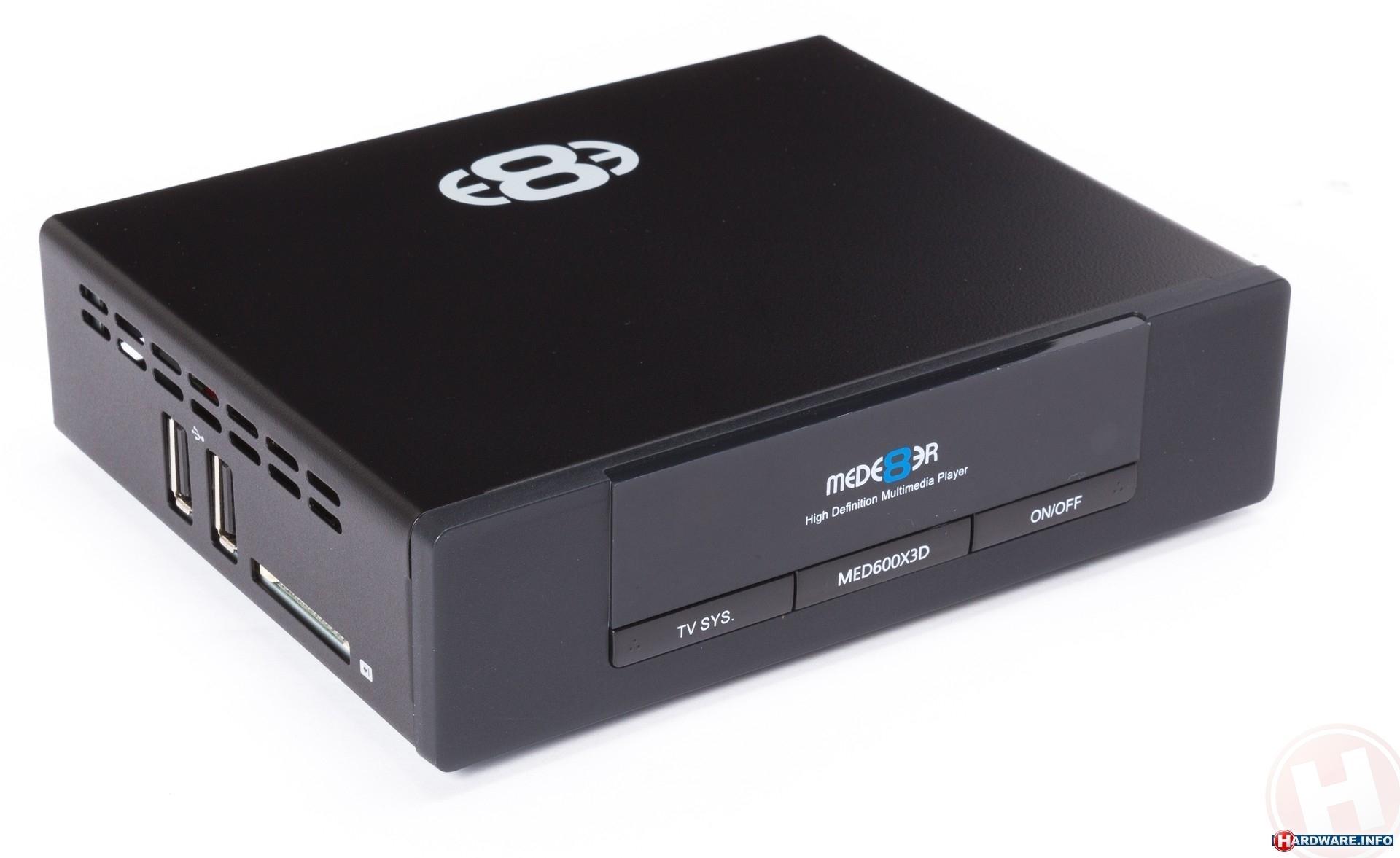 Мултимедиен плеър MED600X3D High Definition 3D - без диск