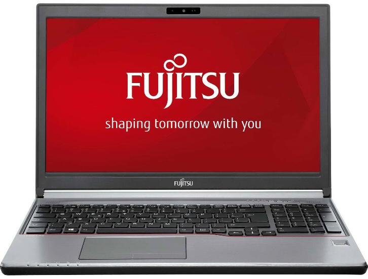 "Лаптоп FUJITSU LIFEBOOK E756, Intel Core i3-6100U (3MB 2.3GHz),15.6"", 4GB, 500GB HDD 7.2k, Win10 Pro, Intel HD Graphics 520, Сребрист"