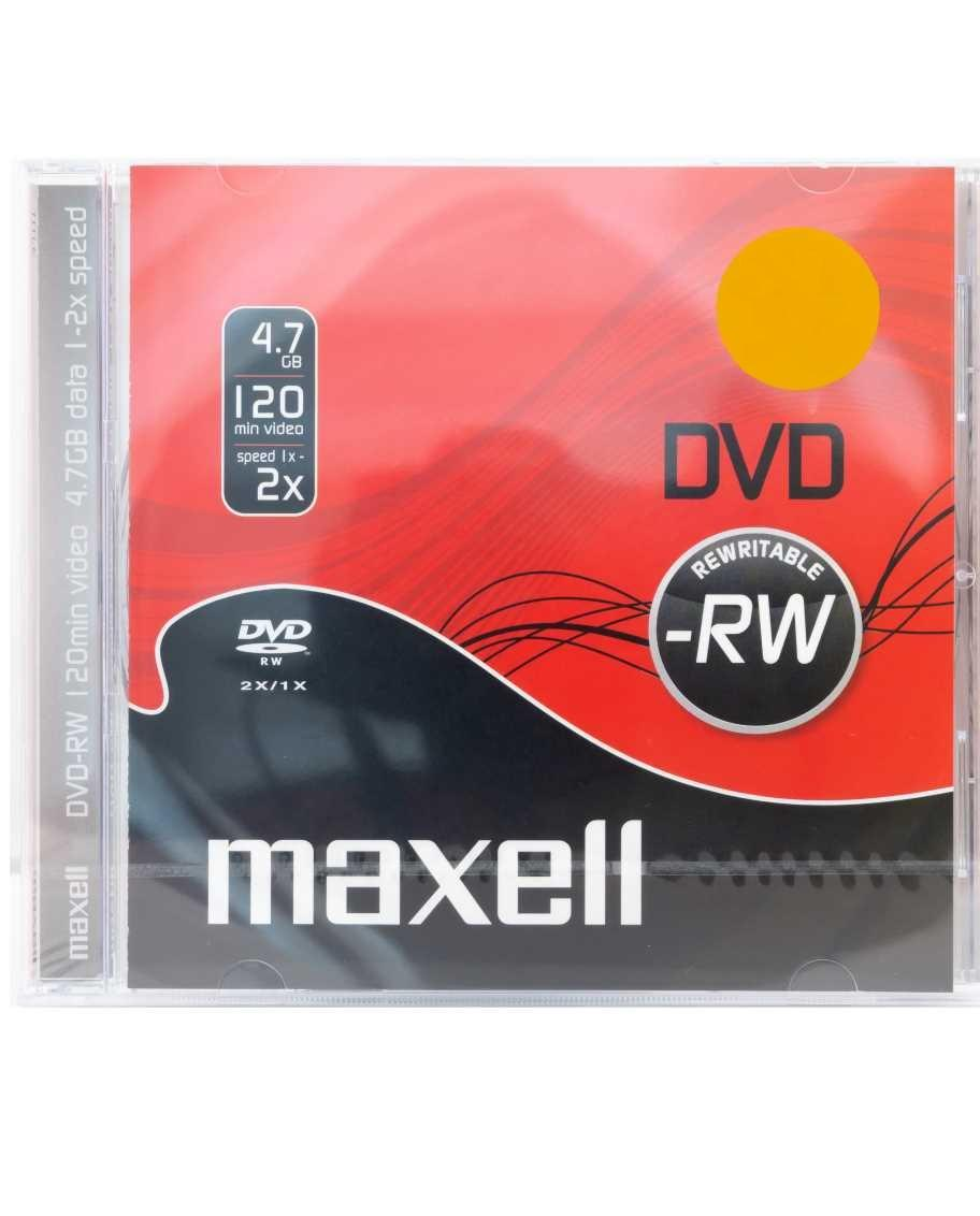 DVD-RW MAXELL, 4,7 GB, 2x, 1 бр.
