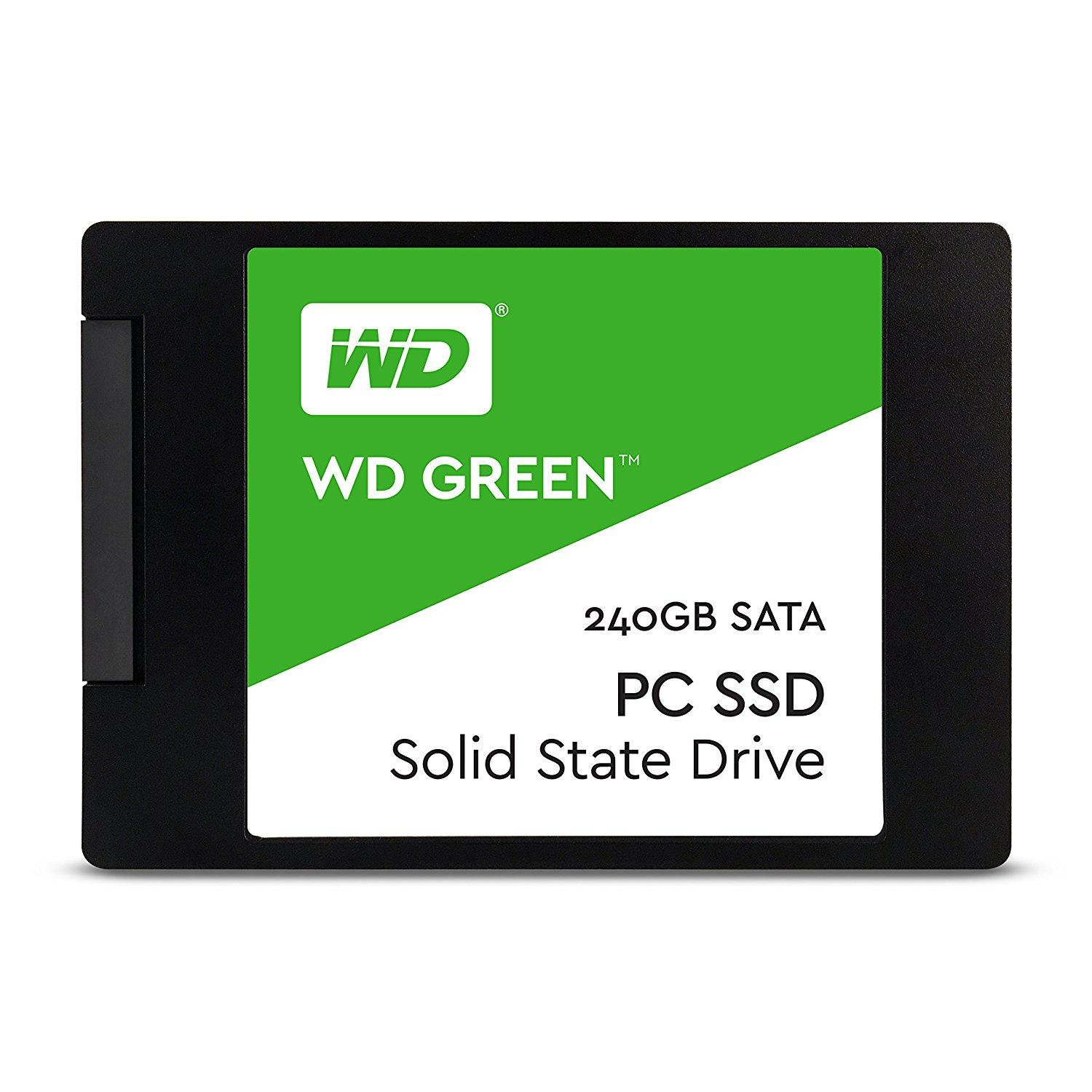 "Solid State Drive (SSD) WD Green, 240GB, 2.5"", SATA3"
