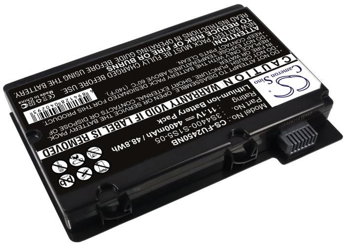 Батерия  за лаптоп Fujitsu AMILO PI2530/2550 XI2428, 11.1V, 4400mAh, Черен, Cameron sino