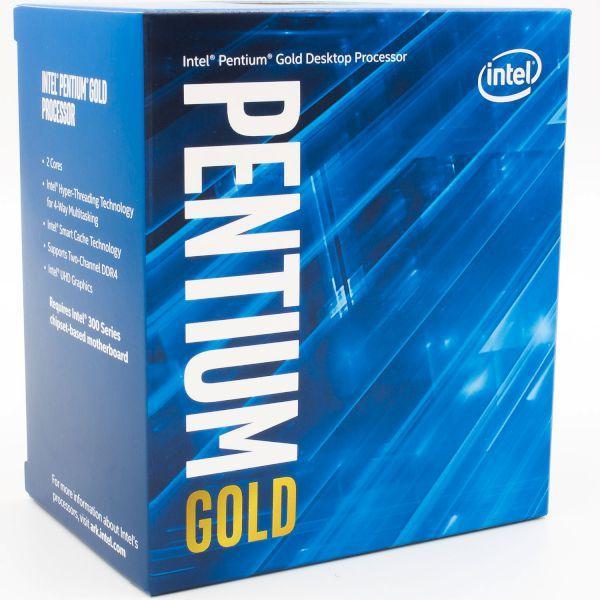 Процесор Intel Pentium G6400, 4.0 GHz, 4M Cache, 58W,  FCLGA1200,  Intel UHD Graphics 610, Comet Lake, Box