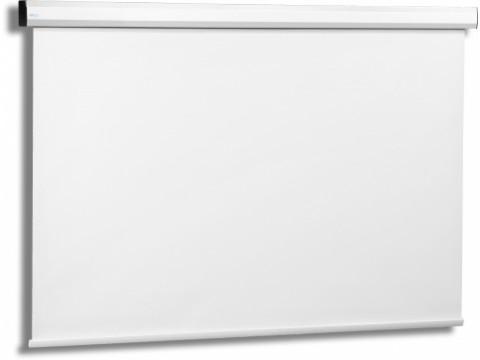 Електрически екран с дистанционно управление AVERS STELLA RADIO 20 MWE, 200 x 200, 1:1, Бял мат