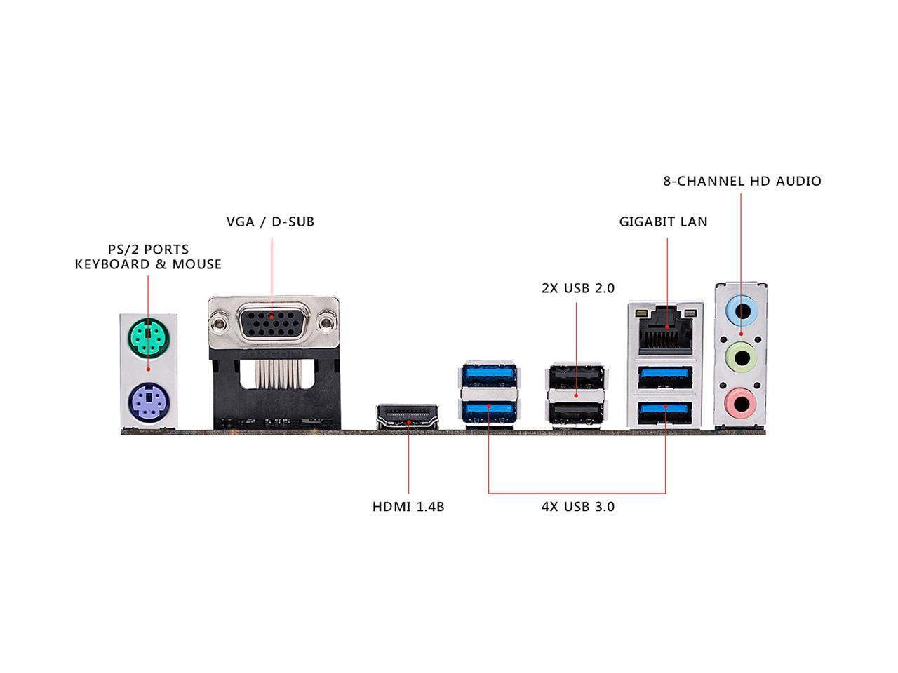 Дънна платка ASUS Prime A320M-K socket AM4, 2xDDR4