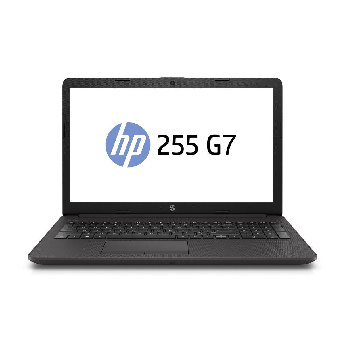 "Лаптоп HP 250 G7 (3P315ES), AMD Ryzen 5 3500U, 15.6"" FHD, 8GB DDR4, 512Gb PCIe NVMEeSSD, no OS, Черен"