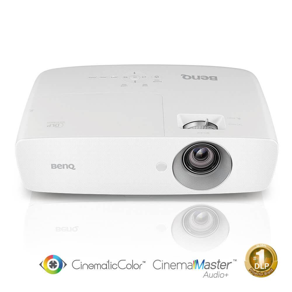 Видеопроектор BenQ W1090, DLP, 1080p, 2000 ANSI, 10 000:1, CinematicColor, CinemaMasterAudio+