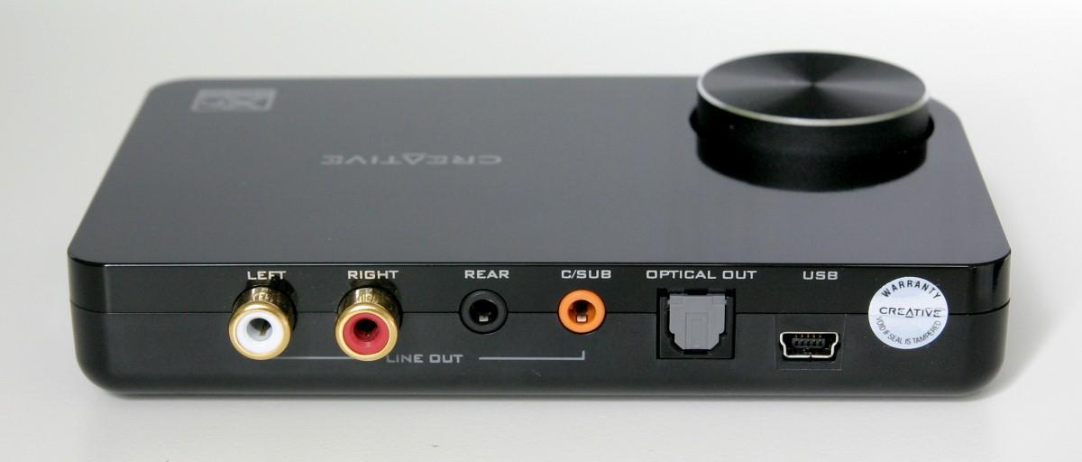 Звукова карта CREATIVE X-Fi Surround 5.1 Pro, USB, 5.1