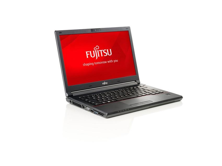 """Лаптоп FUJITSU LIFEBOOK E547, Intel Core i3-7100U (3MB 2.4GHz), 14.1"""" HD, 4GB, 128 SSD, без ОС, Intel HD Graphics 620, Черен"""