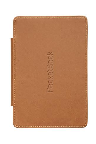 Калъф  POCKETBOOK Light two-sided с две страни за eBook четец, 6 inch, Кафяво/Черен