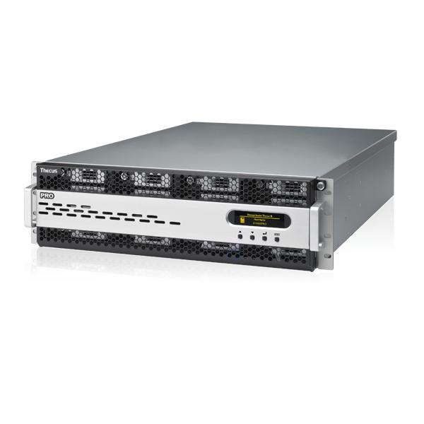 Мрежов сторидж Thecus 3U rack mount NAS N16000PRO 16 диска до 160TB, Intel Xeon E3-1275 3.4Ghz ,8GB DDR3 , Redundant  power supply