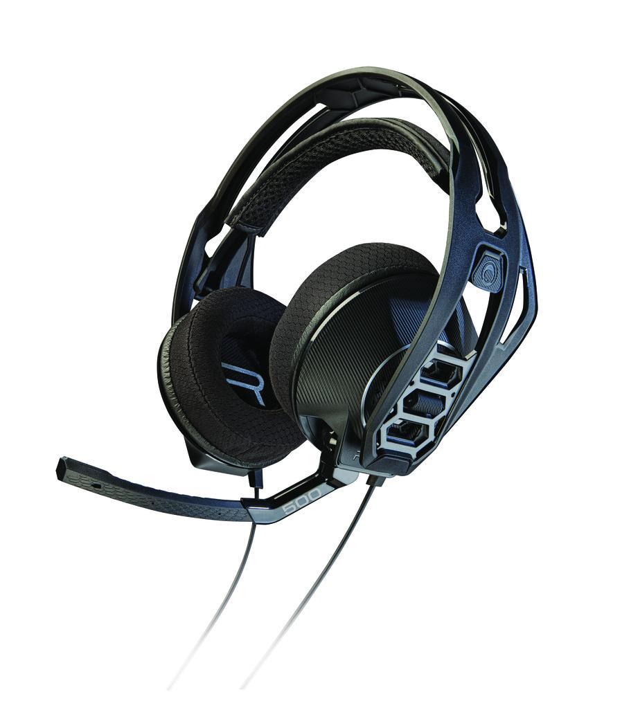 Геймърски слушалки Plantronics, Rig 500, Микрофон, Черно