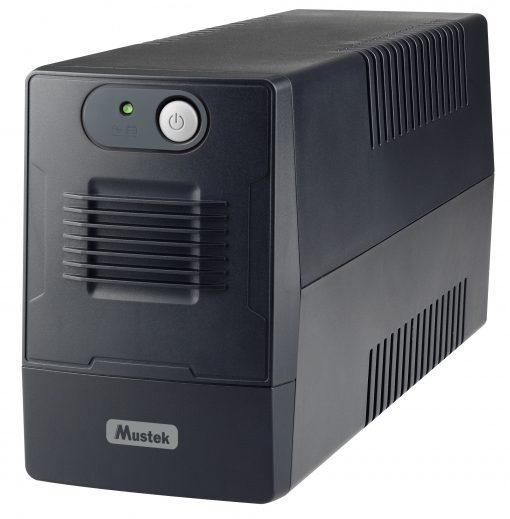 UPS MUSTEK PowerMust PowerMust 600EG, 650VA/360W, Schuko (шуко), Line-Interactive
