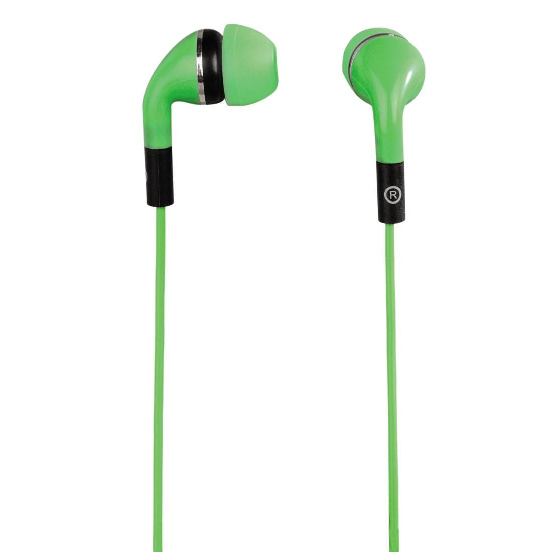 Слушалки HAMA Flip, In-Ear, Зелен