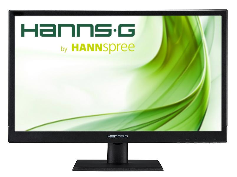 Монитор HANNSPREE HP205DJB, IPS, 19.5 inch, Wide, HD+, D-Sub, DVI-D, Черен