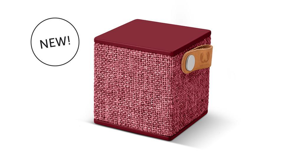 Тонколонка за мобилни устройства Fresh & Rebel  Rockbox Cube Ruby