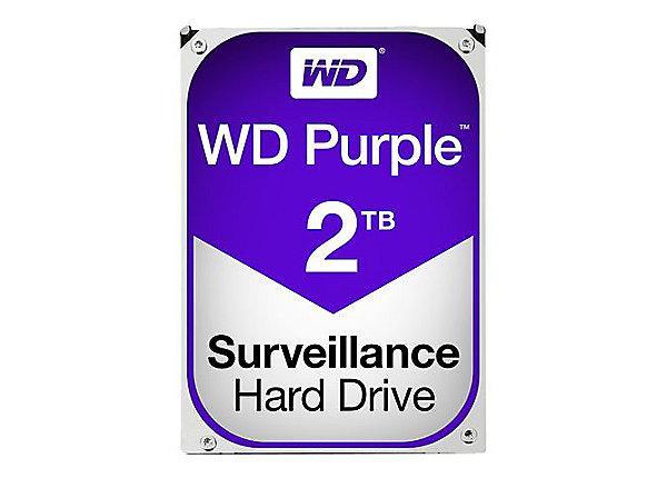 Хард диск WD Purple , 2TB, 5400rpm, 64MB, SATA 3, WD20PURZ