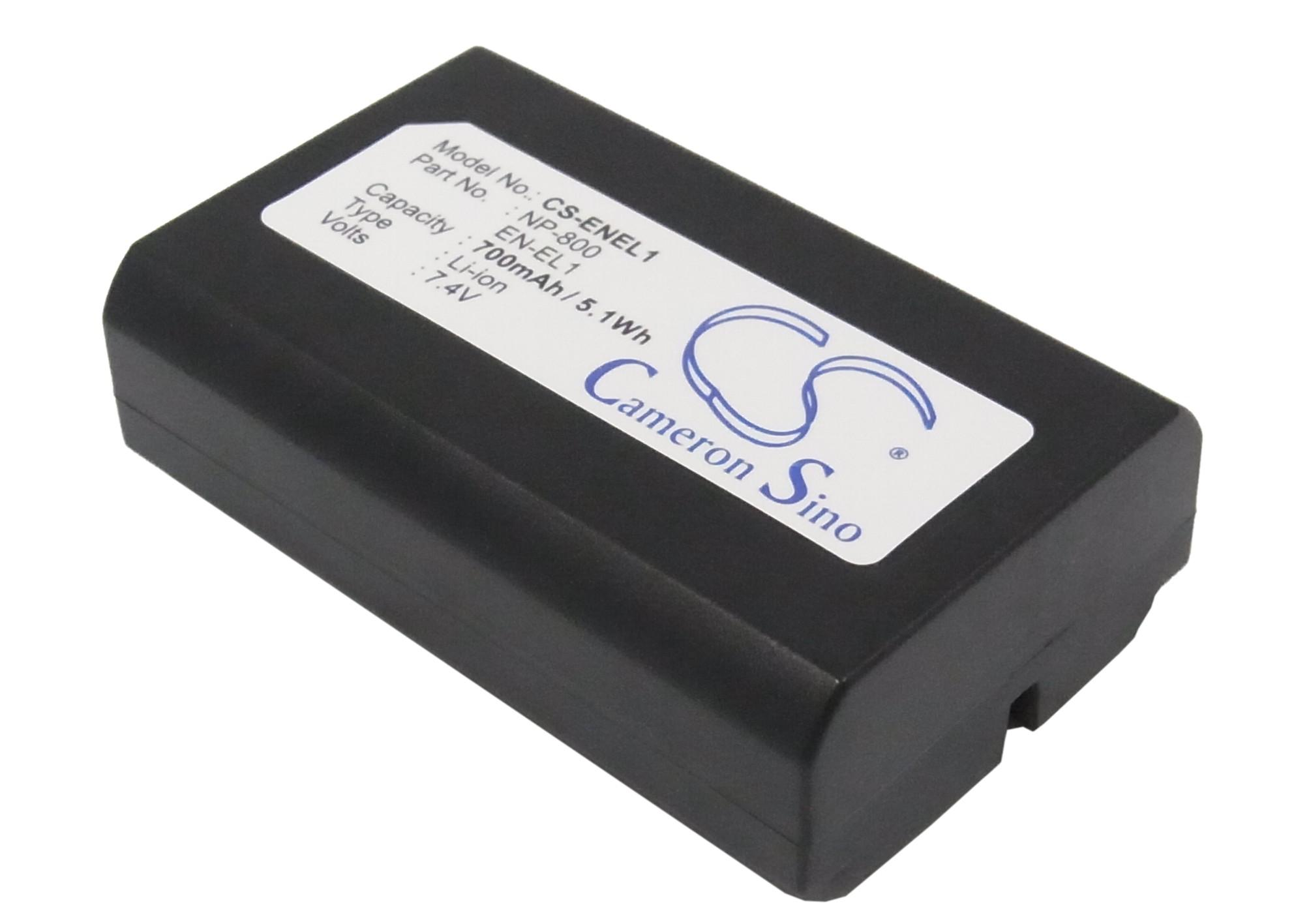 Батерия за апарат NIKON EN-EL1 /Minolta NP800 / LiIon 7.4V 700mAh Cameron Sino