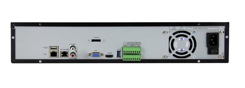 Записващо устройство NVR, VG-MD-8136-4K-4, 36 канала за IP камери