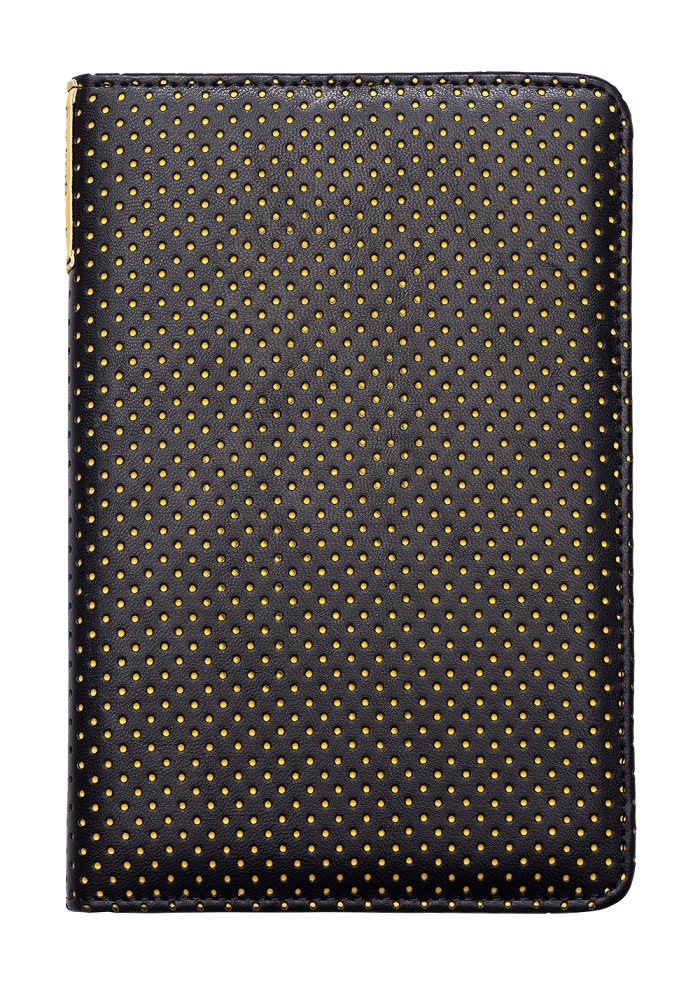 Калъф Pocketbook Cover Dots за eBook четец , 6 inch, Черен