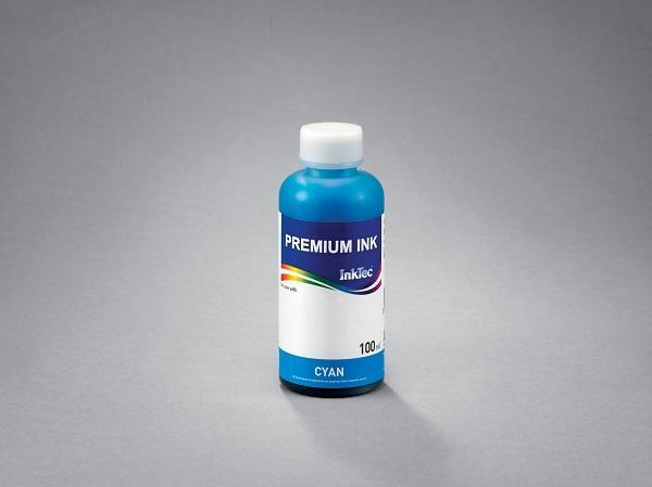 Бутилка с мастило INKTEC за Canon BCI24/BCI21 , Cyan, 100 ml