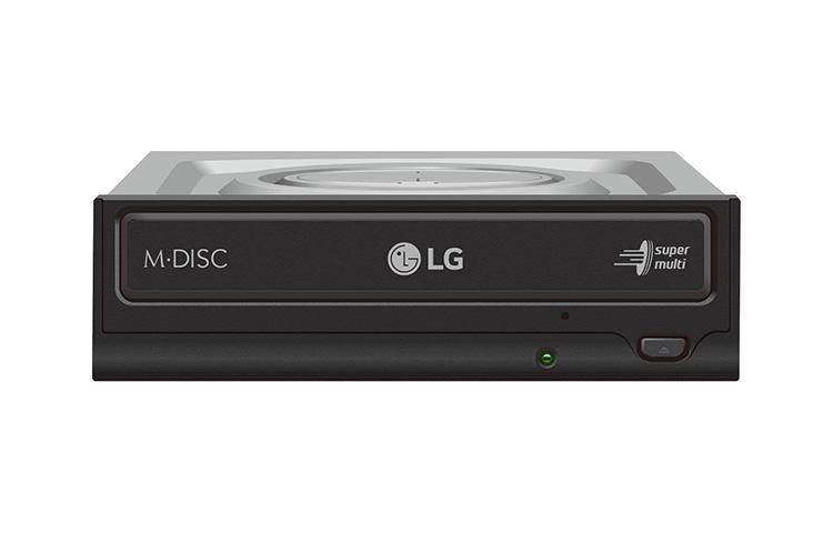 Записващо устройство LG GH24NSD1, за вграждане в компютър, SATA, Черен