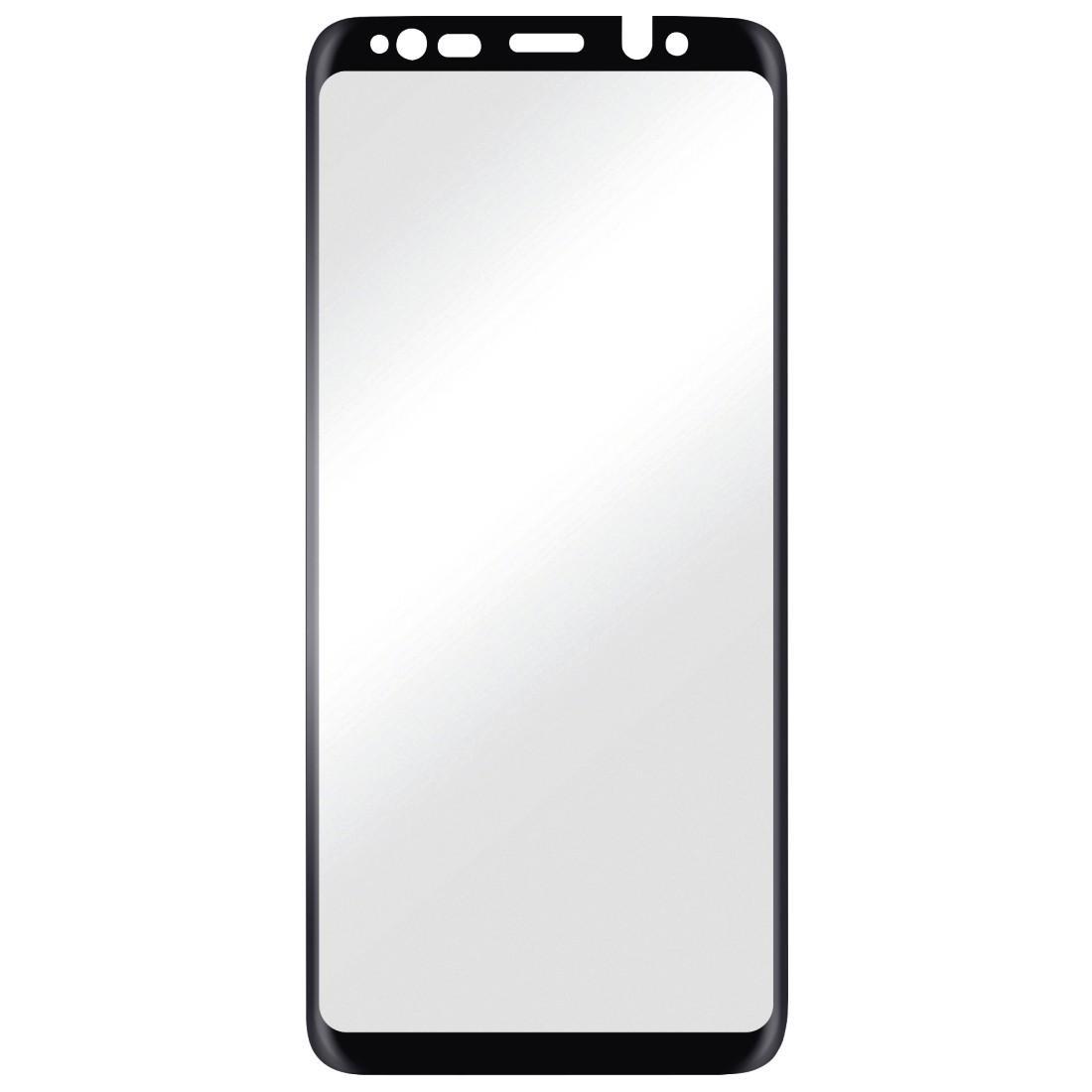 Стъклен протектор HAMA 178986, за Samsung Galaxy S9 3D Full-Screen, черен