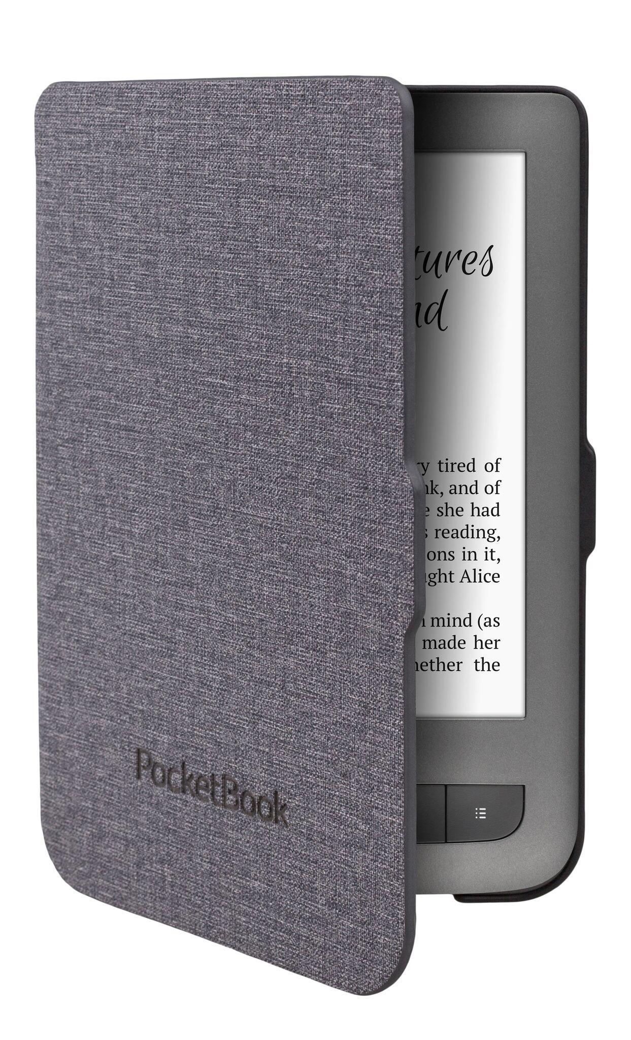 Калъф PocketBook JBP626(2)-GL-P за eBook четец, 6 inch, Сив