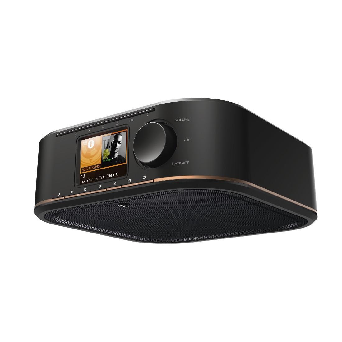 Интернет  радио  HAMA IR350M, Multiroom/App Control, Черен