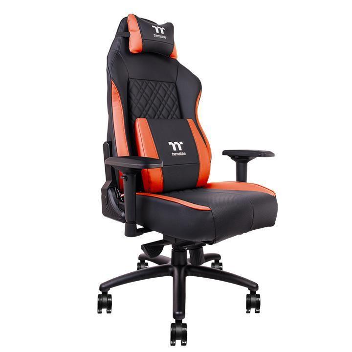 Геймърски стол TteSports X Comfort, Air Black Red