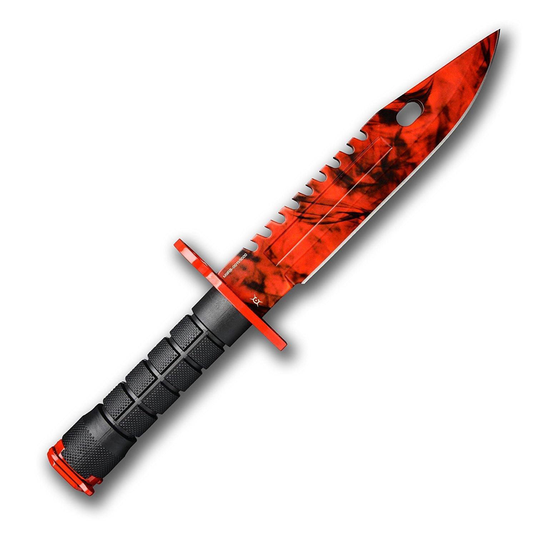 Геймърски нож Fadecase M9 Bayonet -  Ruby