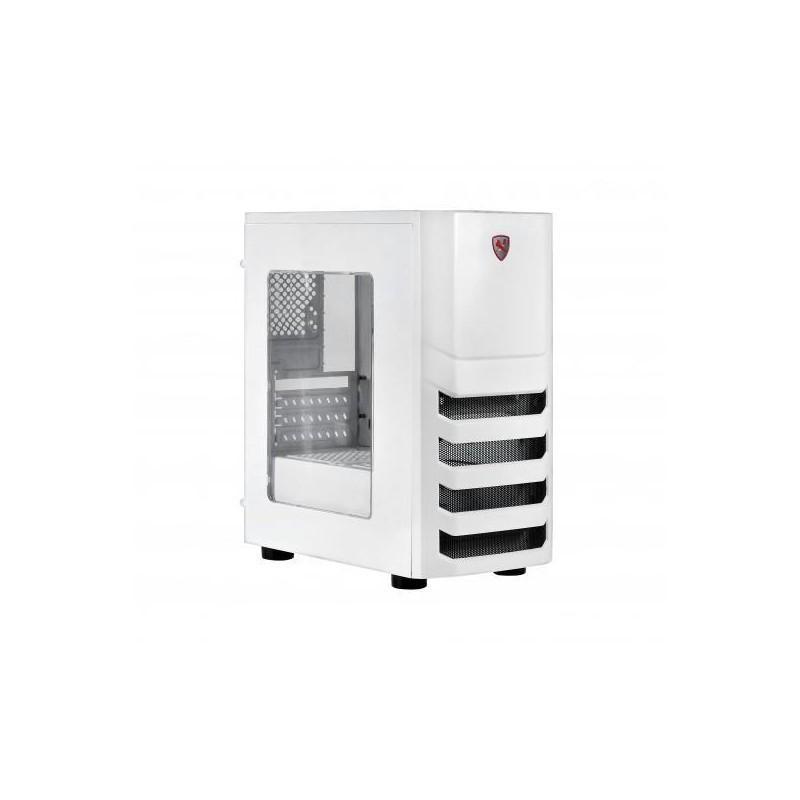 Кутия Spire I5 X2-S8022W-CE/R , ATX, Бял