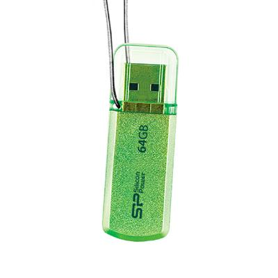 USB памет SILICON POWER Helios 101, 8GB, Зелена