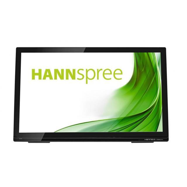 Тъч монитор HANNSPREE HT273HPB, HS-IPS, 27 inch, Wide, Full HD, D-Sub, HDMI, Черен