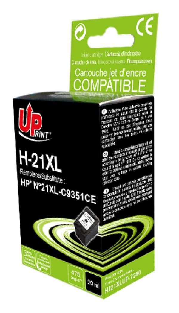 Мастилница UPRINT C9351A HP, Черен