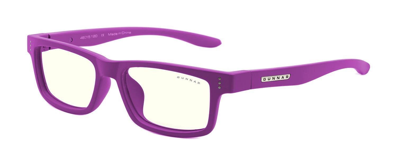 Детски компютърни очила GUNNAR Cruz Kids Small, Clear Natural, Лилав
