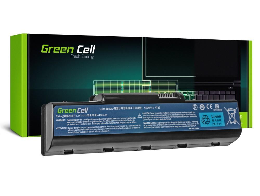 Батерия  за лаптоп Acer Aspire 5532 5732Z 5734Z eMachines E525 E625 E725 G430 G525 G625 AS09A31 AS09A41  11.1V 4400mAh GREEN CELL