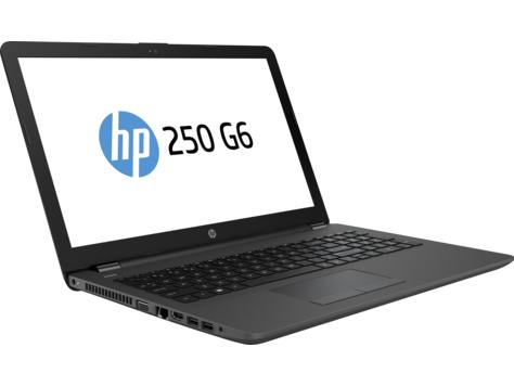 """Лаптоп HP 250 G6 , Intel Pentium N3710 (1.6Ghz Up to 2.56Ghz,2Mb), 15.6"""", 4GB DDR3L,HDD 500GB, без ОС, Intel HD Graphics 405, Черен"""
