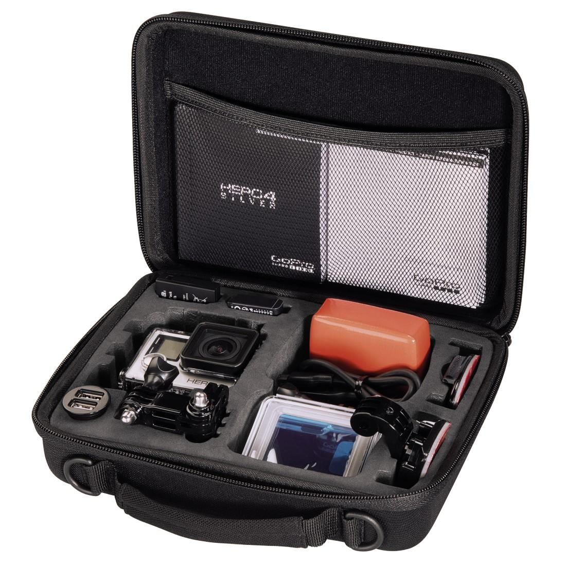 Фото калъф HAMA Hardcase 126670, За GoPro Hero 3/4 Action камера, Черен