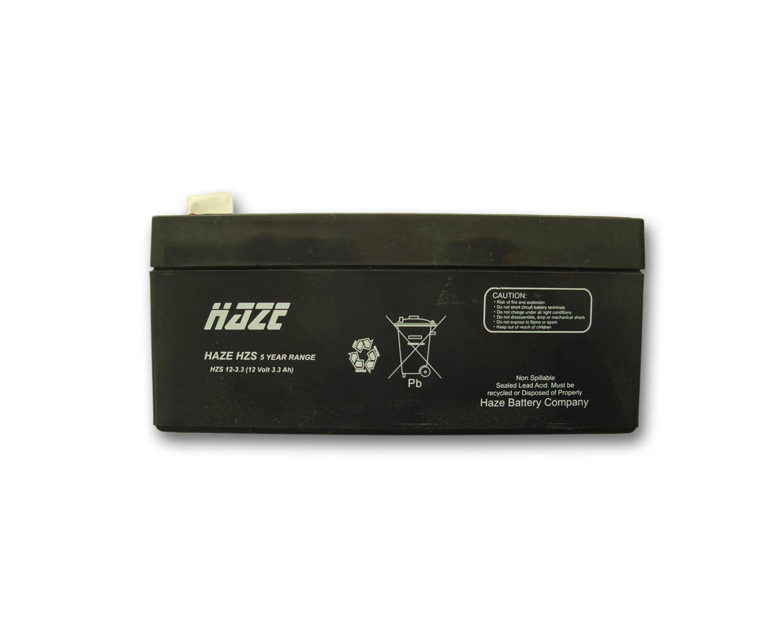 Оловна Батерия Haze ;(HZS12-3.3) 12V / 3.3 Ah - 134 / 67 / 61 mm AGM