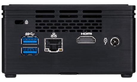Настолен компютър Gigabyte Brix  Intel® Celeron® Processor N3350, 2.4GHz, 2 core (TDP 6W)