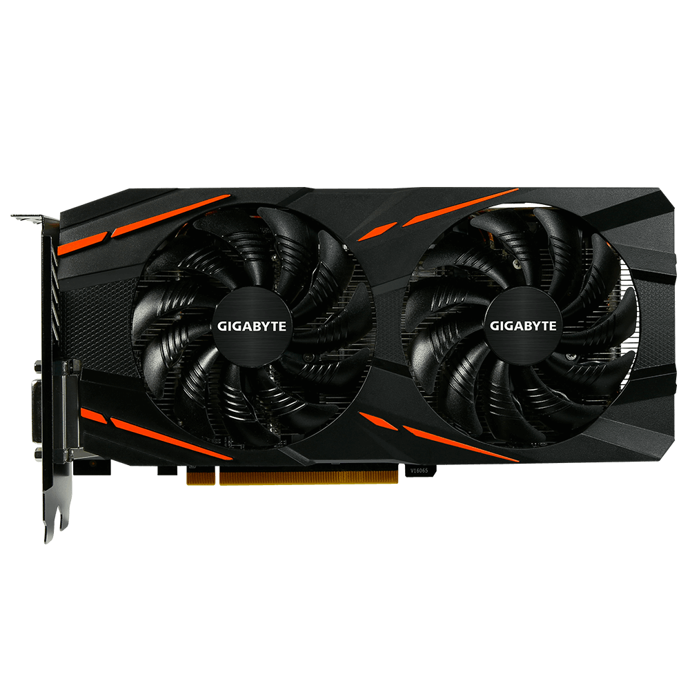 Видео карта GIGABYTE AMD RX 570 Gaming 4G , 4GB GDDR5 256 bit, DisplayPort, HDMI, DVI-D