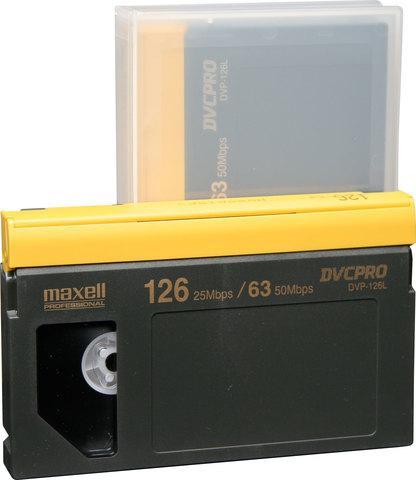 Касета за видеокамера MAXELL DVP-126L DVCPRO, 126 мин.