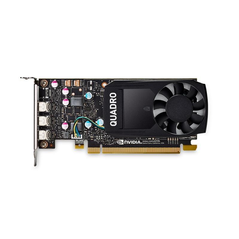 Видео карта PNY NVIDIA Quadro P400, 2GB, GDDR5, 64 bit, DVI адаптер