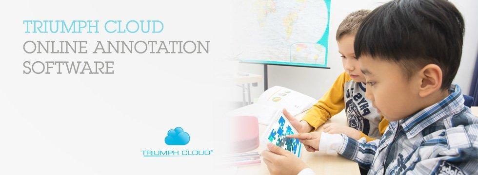 Софтуер Triumph Cloud / Education/- за създаване на учебно съдържание и интерактивни уроци  за 5 учителя